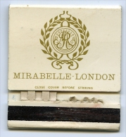 LONDON : MIRABELLE CLUB - MATCHBOOK - Boites D'allumettes