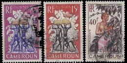 YT 297 Au 299 - Kamerun (1915-1959)
