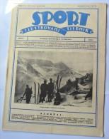 SPORT ILUSTROVANI TJEDNIK 1923 ZAGREB, FOOTBALL, SKI, MOUNTAINEERING ATLETICS,  SPORTS NEWS FROM THE KINGDOM SHS - Livres