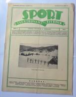 SPORT ILUSTROVANI TJEDNIK 1923 ZAGREB, BOHINJ, FOOTBALL, SKI, MOUNTAINEERING ATLETICS,  SPORTS NEWS FROM THE KINGDOM SHS - Livres