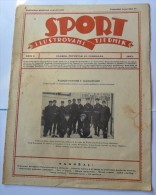 SPORT ILUSTROVANI TJEDNIK 1923 ZAGREB, KRKONOSE, FOOTBALL, SKI, MOUNTAINEERING,  SPORTS NEWS FROM THE KINGDOM SHS - Livres