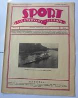 SPORT ILUSTROVANI TJEDNIK 1923 ZAGREB, KRKA, FOOTBALL, SKI, MOUNTAINEERING,  SPORTS NEWS FROM THE KINGDOM SHS - Livres