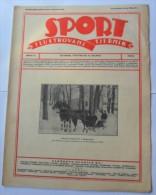 SPORT ILUSTROVANI TJEDNIK 1923 ZAGREB, FOOTBALL, SKI, MOUNTAINEERING,  SPORTS NEWS FROM THE KINGDOM SHS - Livres