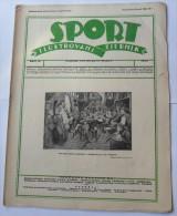 SPORT ILUSTROVANI TJEDNIK 1923 ZAGREB, FOOTBALL, SKI, MOUNTAINEERING,  SPORTS NEWS FROM THE KINGDOM SHS - Boeken