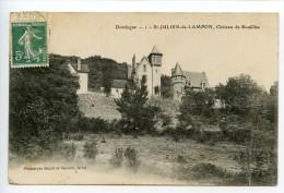 Saint Julien De Lampon Château De Roufillac (vue Rare) - Autres Communes