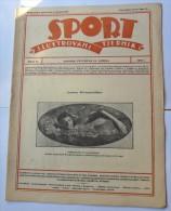 SPORT ILUSTROVANI TJEDNIK 1923 ZAGREB, JONNY WEISSMULLER FOOTBALL SKI, MOUNTAINEERING,  SPORTS NEWS FROM THE KINGDOM SHS - Livres