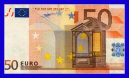 """50 EURO """"V"""" SPAIN FIRMA DUINSENBERG P001F5  CIRCULATE  SEE SCAN!!!!! - EURO"""