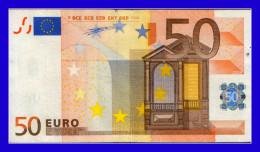"""50 EURO """"V"""" SPAIN FIRMA DUINSENBERG M005E5  CIRCULATE  SEE SCAN!!!!! - EURO"""