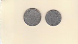 Lot De 2 Pièces De 50c De 1939  & 20 C  De 1941 - Other