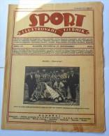 SPORT ILUSTROVANI TJEDNIK 1923 ZAGREB, DONK DARUVAR, JACK DEMPSEY MOUNTAINEERING,  SPORTS NEWS FROM THE KINGDOM SHS - Livres