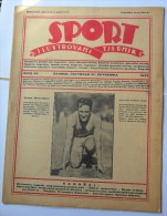 SPORT ILUSTROVANI TJEDNIK 1923 ZAGREB, FOOTBALL SKI MOUNTAINEERING,  SPORTS NEWS FROM THE KINGDOM SHS - Livres