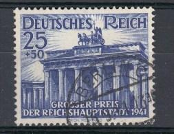Deutsches Reich MI 803 25 Pf.  Galopprennen Berlin  1941 - Berlin 15.9.41 - Gebraucht