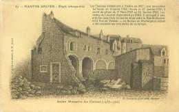 44 - NANTE Ancien - Etude Rétrospective - Ancien Monastère Des Clarisses (1457 - 1792) - Nantes
