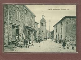 LA VILLE (69) - COURS LA VILLE - GRANDE RUE - CARTE RARE - Cours-la-Ville