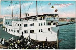 "Restaurant Ship ""Cabrillo"" Venice, Cal. - Hotels & Restaurants"