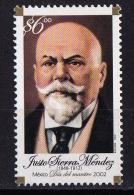 Mexico, (Sc # 2281), MNH, (Set Of 1) Justo Sierra Mendez, Writer  2002 - Mexico