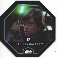 STAR WARS - Jeton Leclerc Cosmic Shells N° 17 - LUKE SKYWALKER - Autres Collections