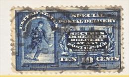U.S.  E 5  Fault  Filler   (o)  1895  Issue  Wmk. - Special Delivery, Registration & Certified