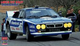 Lancia 037 Rally Chardonnet 1/24 ( Hasegawa ) - Cars