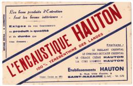BUVARD L'ENCAUSTIQUE HAUTON 100% TEREBENTHINE DES LANDES ETS HAUTON 9 RUE VILLE ETABLE SAINT-NAZAIRE - Produits Ménagers