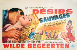 - Désirs Sauvages - Wilde Begeerten - Affiche Originale De Cinéma Raymond Burr - Affiches