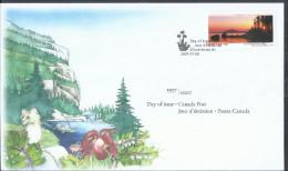 Canada 2007 FDC TERRA NOVA National Park 52c OFDC - Omslagen Van De Eerste Dagen (FDC)