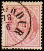1882. Aur-Issue. 40 Aur Violet-lilac. Perf. 14x13½ (Michel: 15A) - JF191461 - Neufs