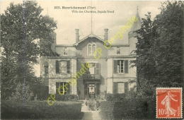 18. HENRICHEMONT . Villa Des Charmes . Façade Nord . - Henrichemont