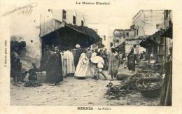 Maroc Illustré - Meknès - Au Mellah - Meknes