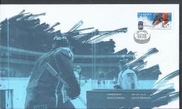 Canada 2008 FDC IIHF WORLD CHAMPIONSHIP MONDiAL 52c OFDC - Omslagen Van De Eerste Dagen (FDC)