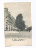 Cp , Hôtels & Restaurants , 75 , PARIS , Le PALACE HÔTEL , Avenue Des CHAMPS ELYSEES , Dos Simple , Voyagée 1903 - Hotels & Restaurants