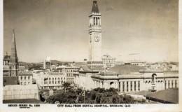 BRISBANE - Australie : City Hall (Hôtel De Ville). - Zonder Classificatie