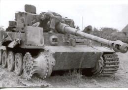 Militaria - Photo WW 2 Retirage - Char Et Soldat- (334) - 1939-45