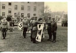 Militaria - Photo WW 2 Retirage -militaires, Drapeaux  (329) - 1939-45