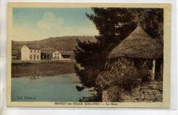 21 MAREY Sur TILLE Visuel Rare La GARE Du Village 1930 /D07-2015 - France