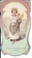 SAN444- SANTINO HOLY CARD - SANTO BAMBINO GESU' - Imágenes Religiosas