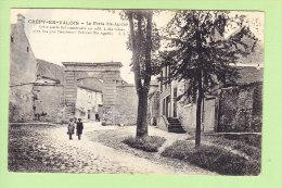 CREPY EN VALOIS : La Porte Ste Agathe. 2 Scans. Edition E L - Crepy En Valois