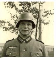 Militaria - Photo WW 2 Retirage - Portrait Soldat  (331) - 1939-45