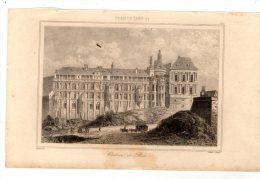 Gravure Sur Acier , XIX éme Siècle , 13 X 21 Cm  , Château De BLOIS  , Frais Fr : 1.60€ - Prenten & Gravure