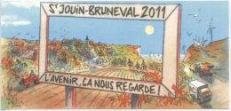 Saint Jouin Bruneval 2011 - L´Avenir ça Nous Regarde ! Voeux 2011 (Kokor Illustrateurs BD) - Otros Municipios