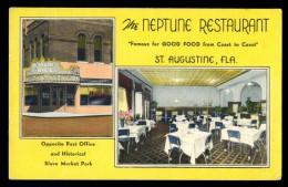 Cpa Etats Unis Usa St Augustine Florida Neptune Restaurant     JAN16 9 - St Augustine