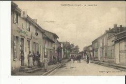 Hauteville  51    La Grande-Rue Tres Tres Animée-Attelage Et Epicerie-Boulangerie-Café - Other Municipalities