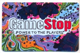 Game Stop  U.S.A.  Gift Card For Collection, No Value # 18 - Gift Cards