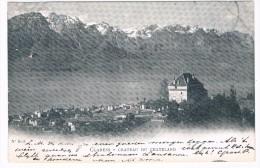 CH3750      CLARENS : Chateau Du Chatelard - VD Waadt
