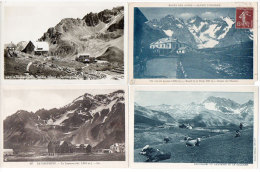 LE LAUTARET - 4 CPA - Paturage - Jardin Alpin - Glacier De L' Homme - Hotels   (83376) - Non Classés