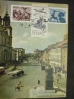 Carte Postale Varsovie  /Krakowskie Przedmiescie 2/09/1958 - 1944-.... République