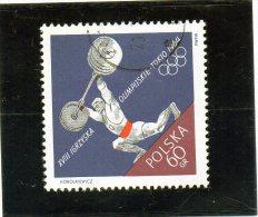 1964 Polonia - Olimpiadi Di Tokyo - Pesistica