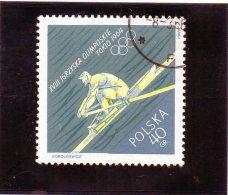 1964 Polonia - Olimpiadi Di Tokyo - Canottaggio