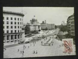 Carte Postale Belgrade Boulevard De La Révolution 30/10/1962 - 1945-1992 République Fédérative Populaire De Yougoslavie