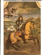 H..Benoit-Gebelin - Louis XIV  Couronné Par La Victoire (salon D´Hercule)  Rigaud  - Chateau De Versailles - Histoire